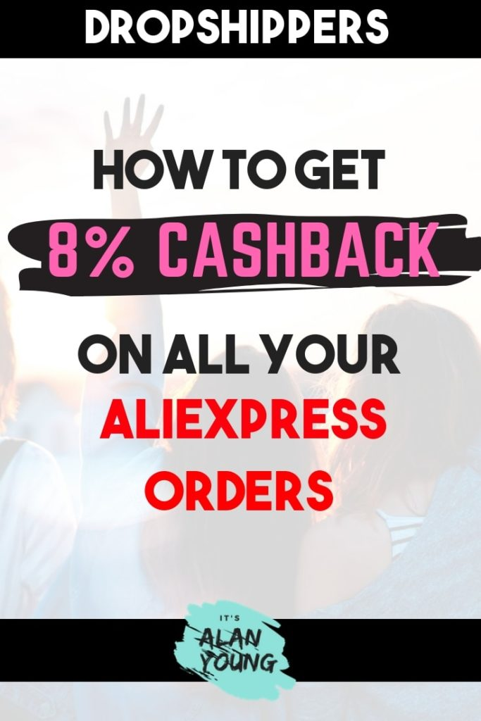 Get AliExpress cashback on your you Dropshipping orders when using Dropified and Admitad