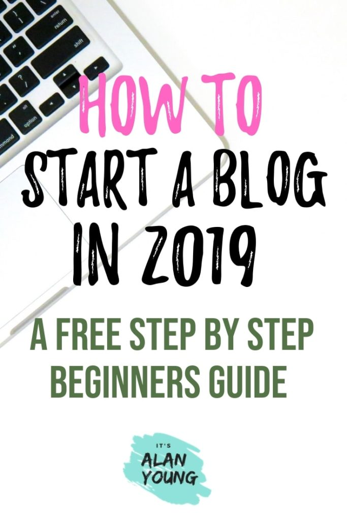 How To Start A Blog In 15 Mins. Step by step guide to starting a blog. Blogging is a great work from home business that can give you the freedom to live a life on your terms. #ItsAlanYoung #blogging #WAHM #workfromhome #onlinebusiness