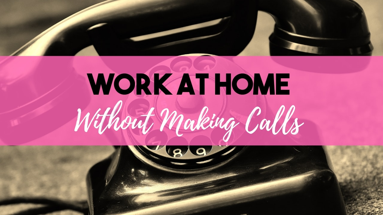 10 Ways To Make Money At Home Without Being On The Phone · It's Alan